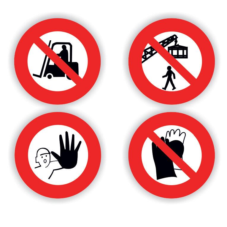 Πινακίδες απαγορευτικές